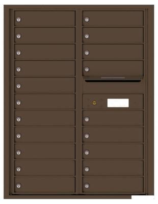 Florence Manufacturing Mailbox 4C11S-HOP-P