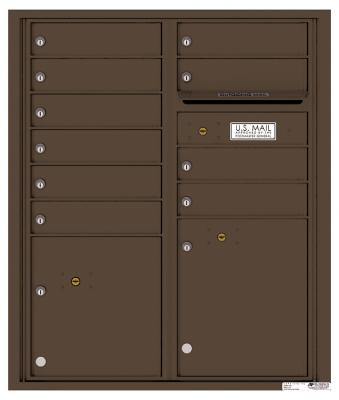 Florence Manufacturing Mailbox 4CADD-09-P