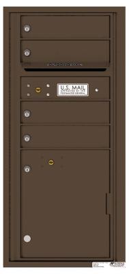 Florence Manufacturing Mailbox 4CADS-2P-P