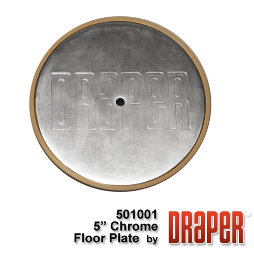 5? Chrome Plated Floor Cover Plate Assembly
