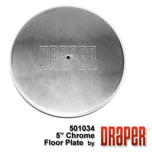 8? Chrome Plated Floor Cover Plate Assembly