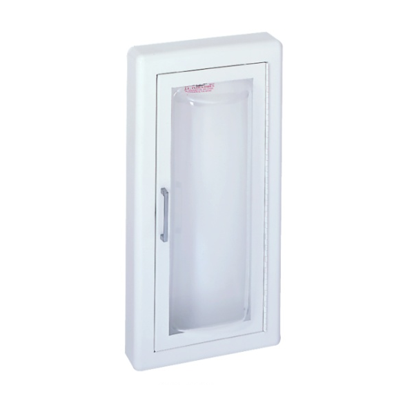 JL Industries 1523 Clear VU Aluminum Fire Extinguisher Cabinet Surface Mounted