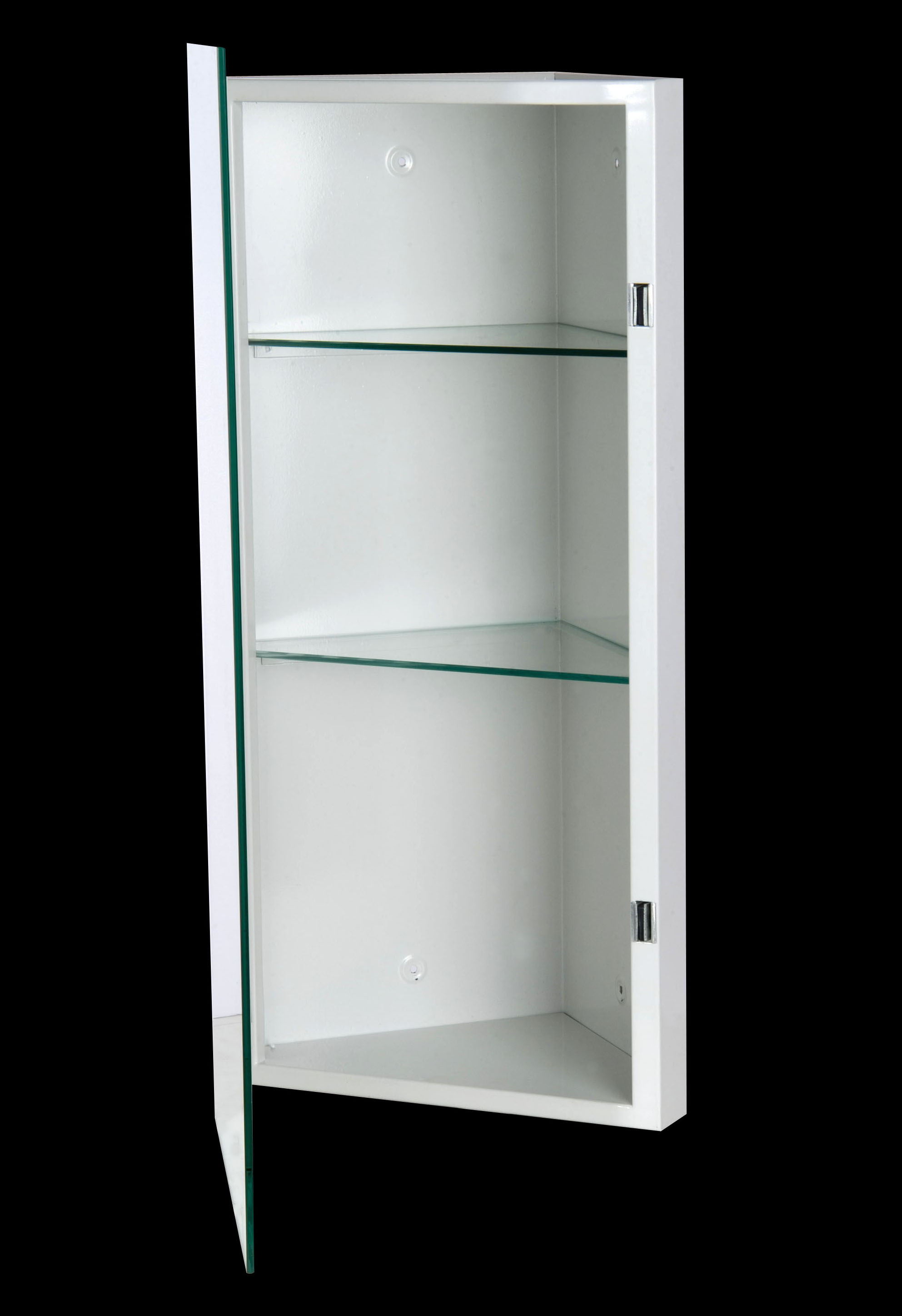 Cmc 1436bv Ketcham Corner Medicine Cabinet Beveled Edge Mirror 14x36
