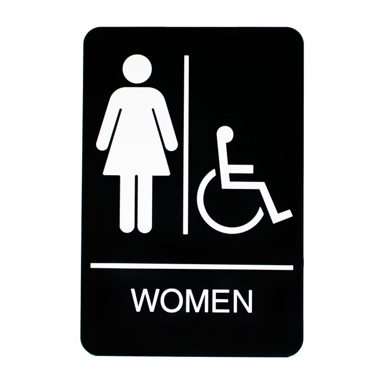 Women Rest Room Sign