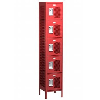 15121266 Five Tier 12x12x66 Locker