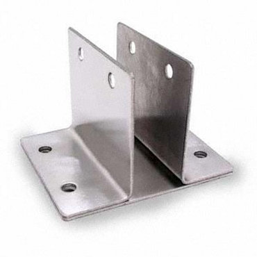 Wall Bracket Two Ear 1-1/8