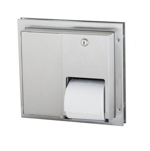 Bradley 5422 Dual Roll Toilet Dispenser