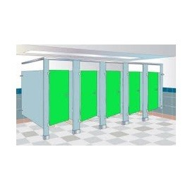 Bradley 24x42 Urinal Screen FMOB-BE