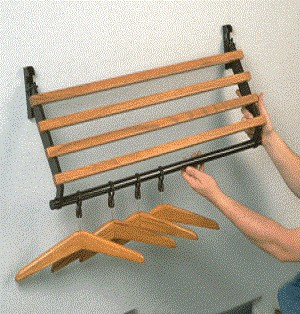Emco HCR-5ft. Coat Rack